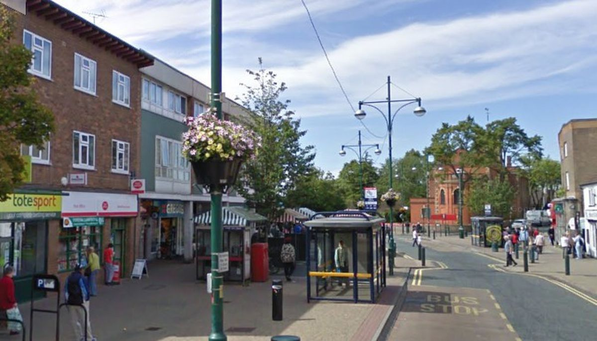 A view along Wednesfield High Street. Traders are calling for an increased police presence following a number of violent and intimidating attacks on shoppers and businesses. Photo: Google Street View
