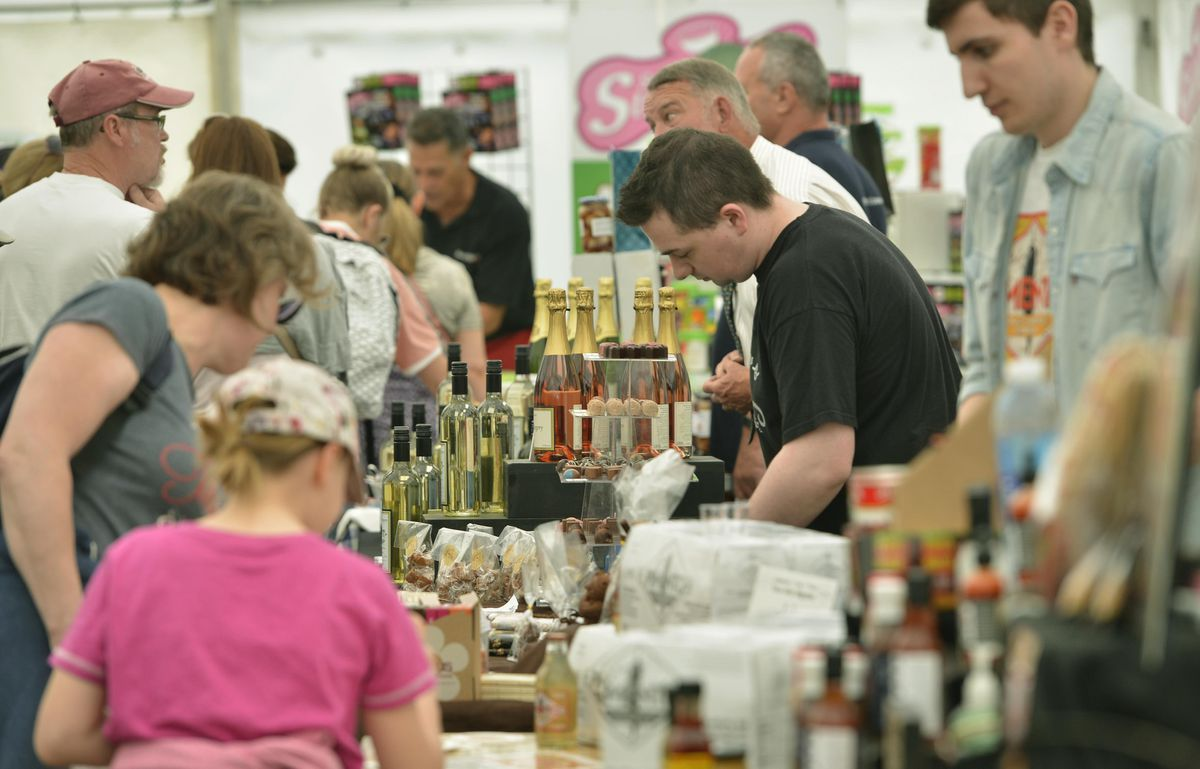 Crowds flock to the Great British Food Festival