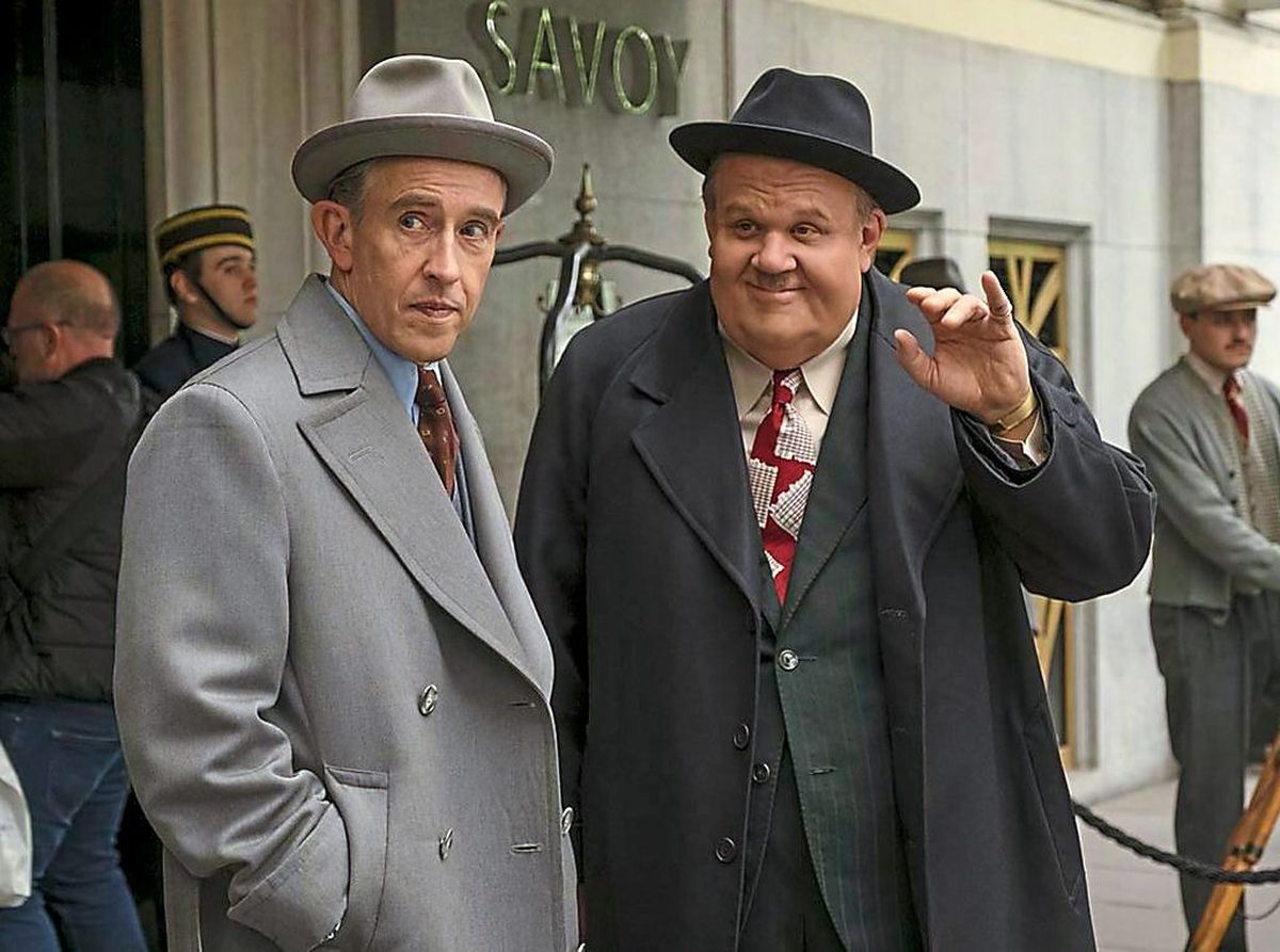 Steve Coogan and John C Reilly in Stan and Ollie