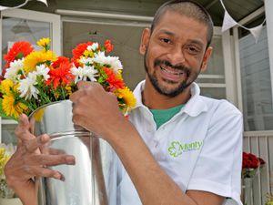 Inclusive Entrepreneur Monzur Miah has launched his new online business Monty's Flowers