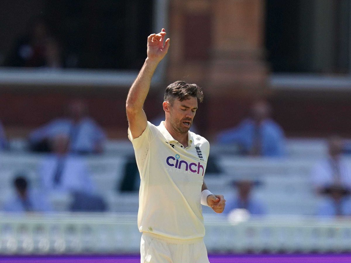 James Anderson is England's most capped Test player