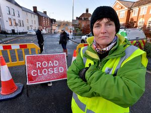 Lindsay Wilson, who owns a flooded property in Bewdley and is a flood volunteer