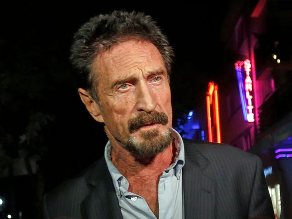 Crypto McAfee Charges