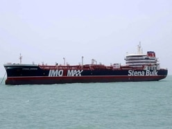 Government 'looking at series of options' over tanker seized by Iran