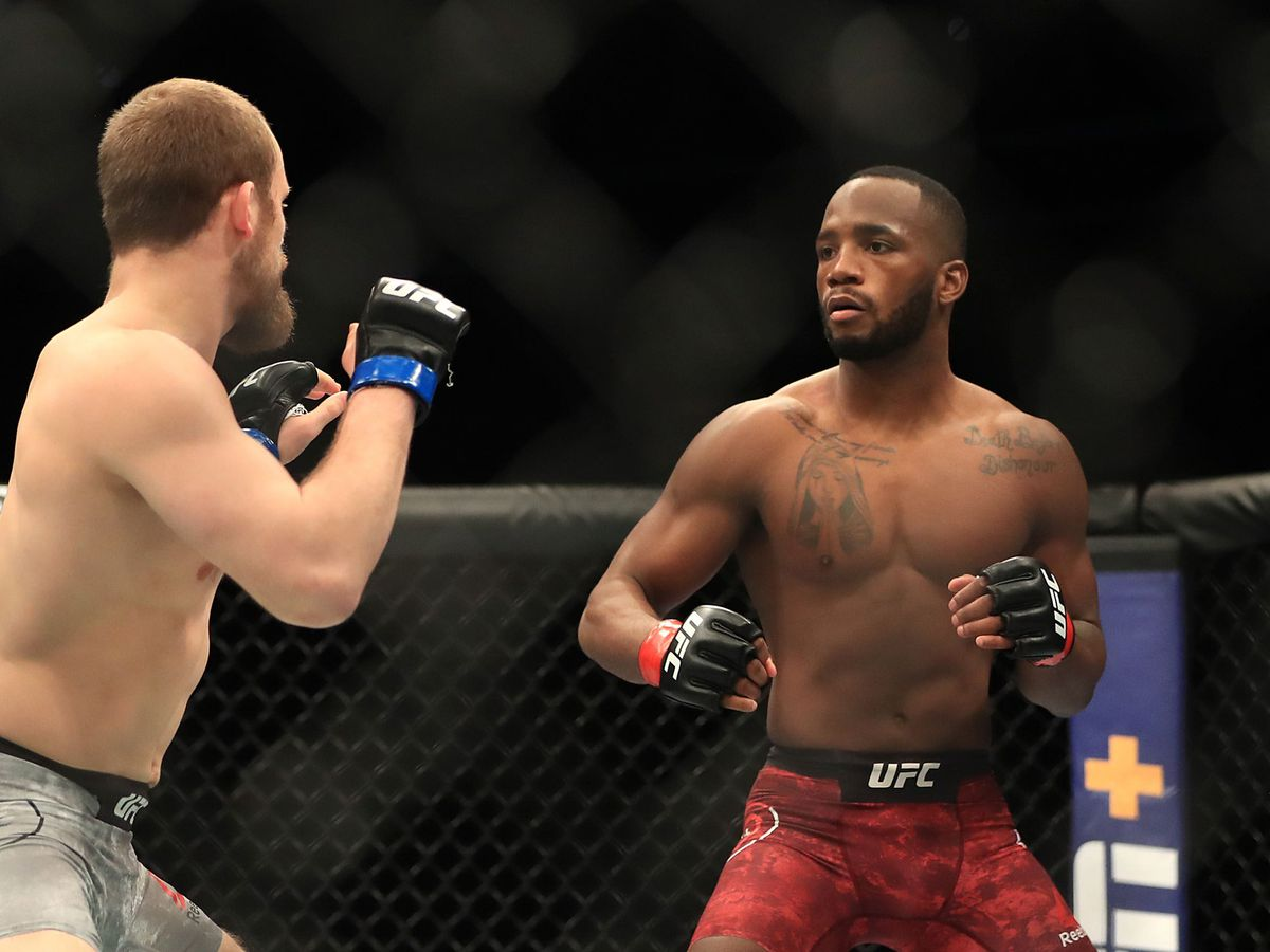 Leon Edwards in action