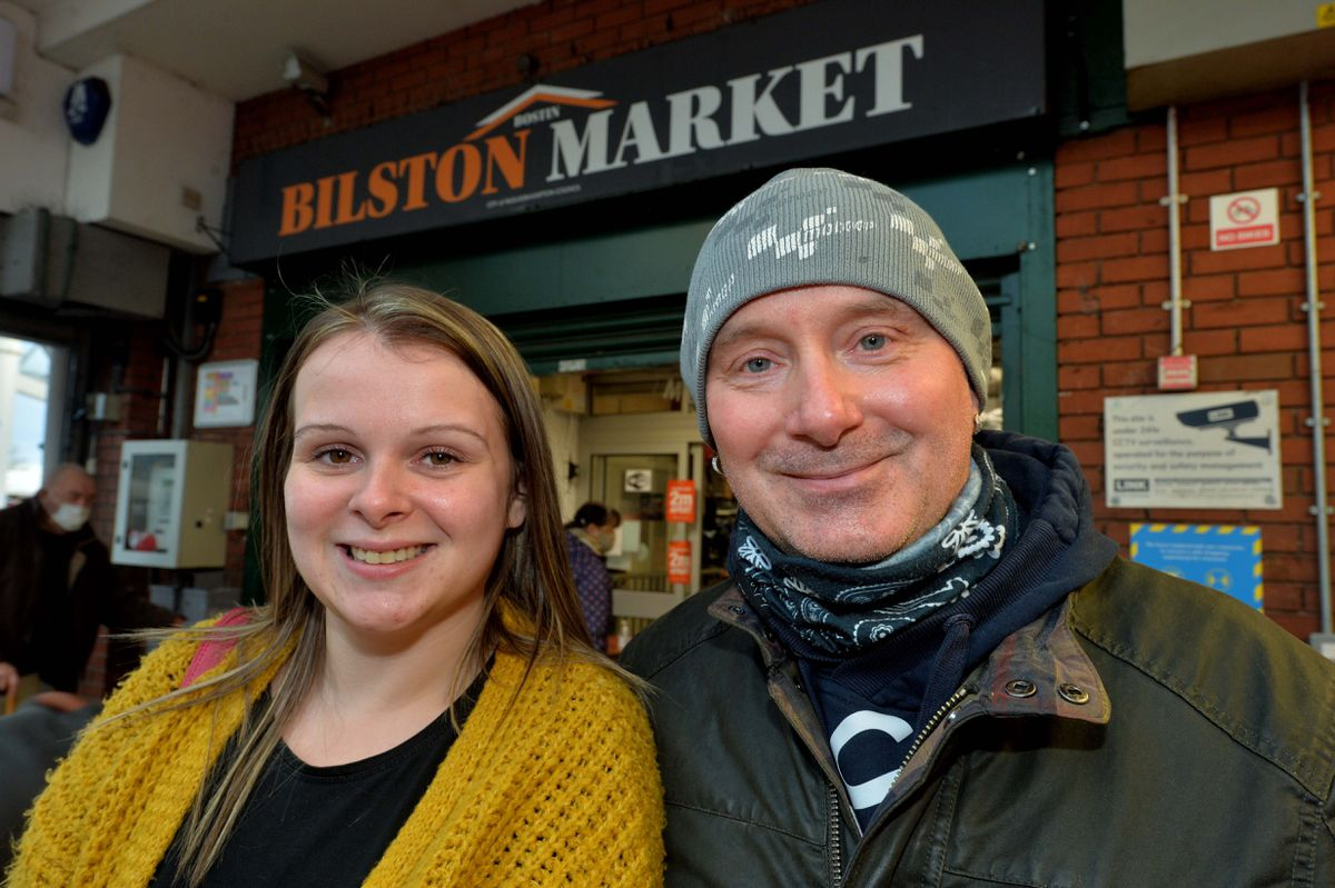 Katie and Steve Pearce from Coseley