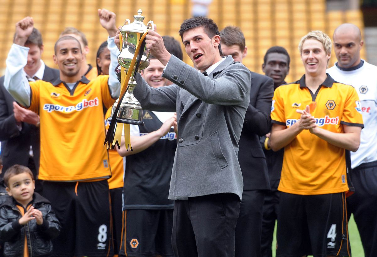 Batth with his young player of the year award in 2010
