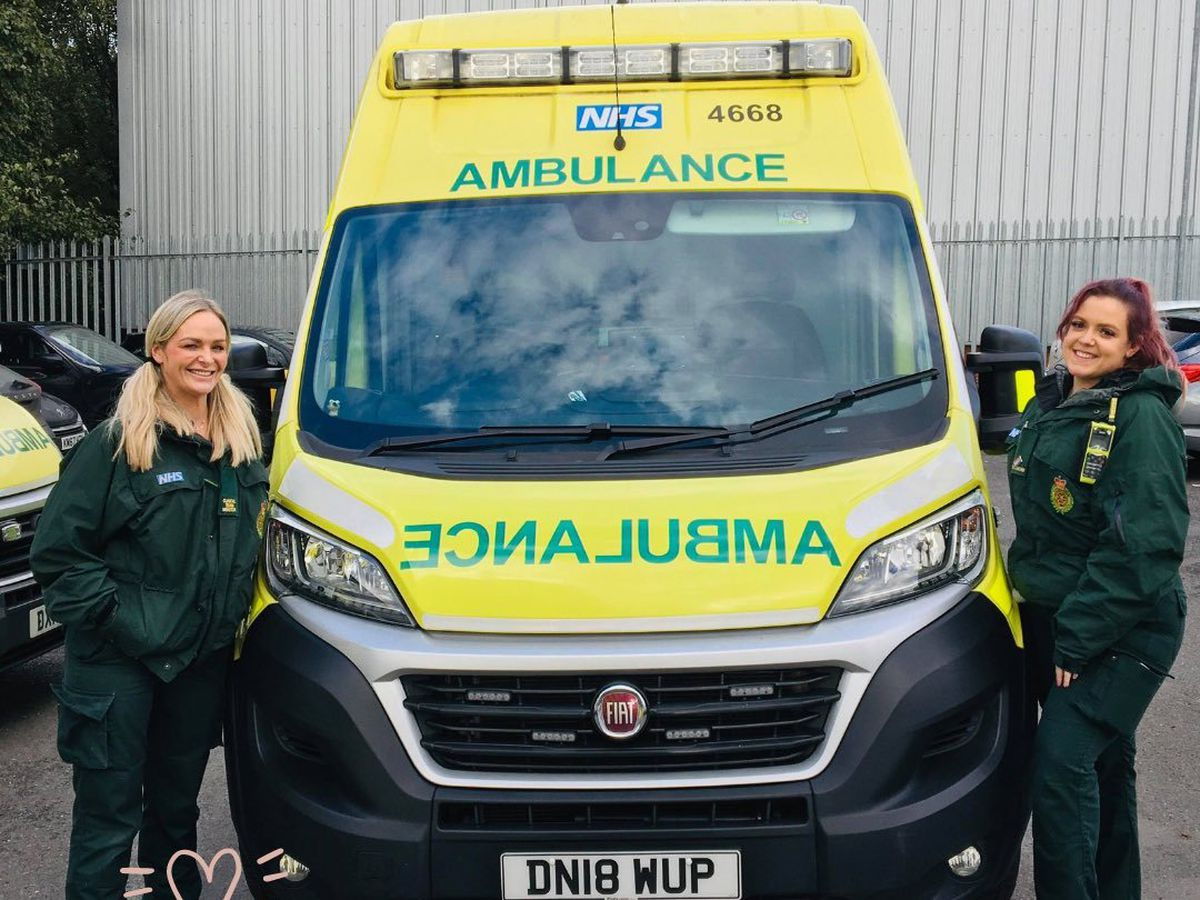 Paramedic Deena on her first shift back after being stabbed in Wolverhampton
