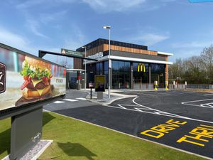 The new McDonald's in Stafford