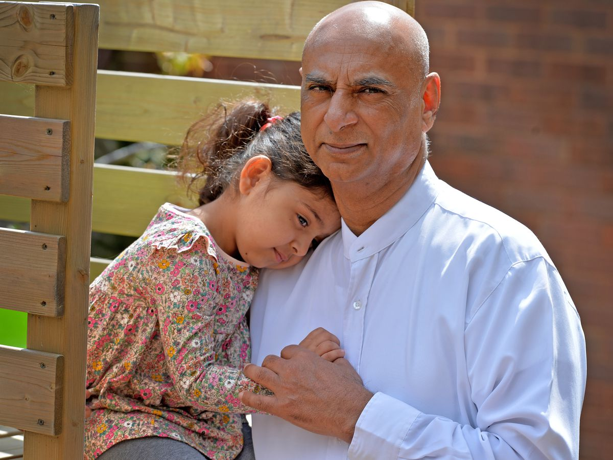 Milkinder Jaspal back home with three-year-old granddaughter Basant after battling Covid