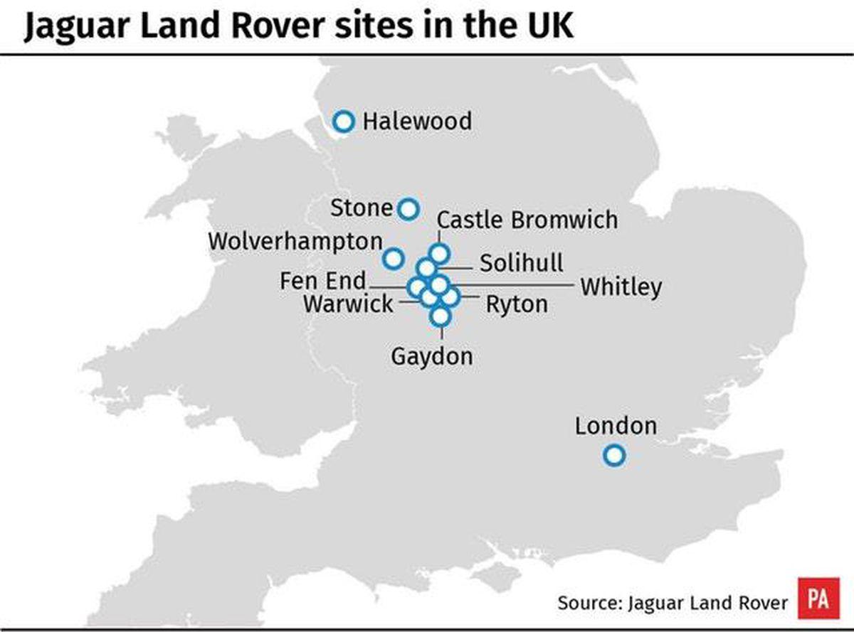 JLR employs around 40,000 people across the UK
