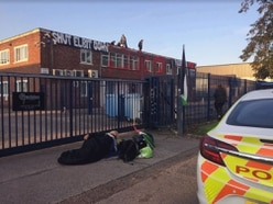 Five people charged over Staffordshire factory protest