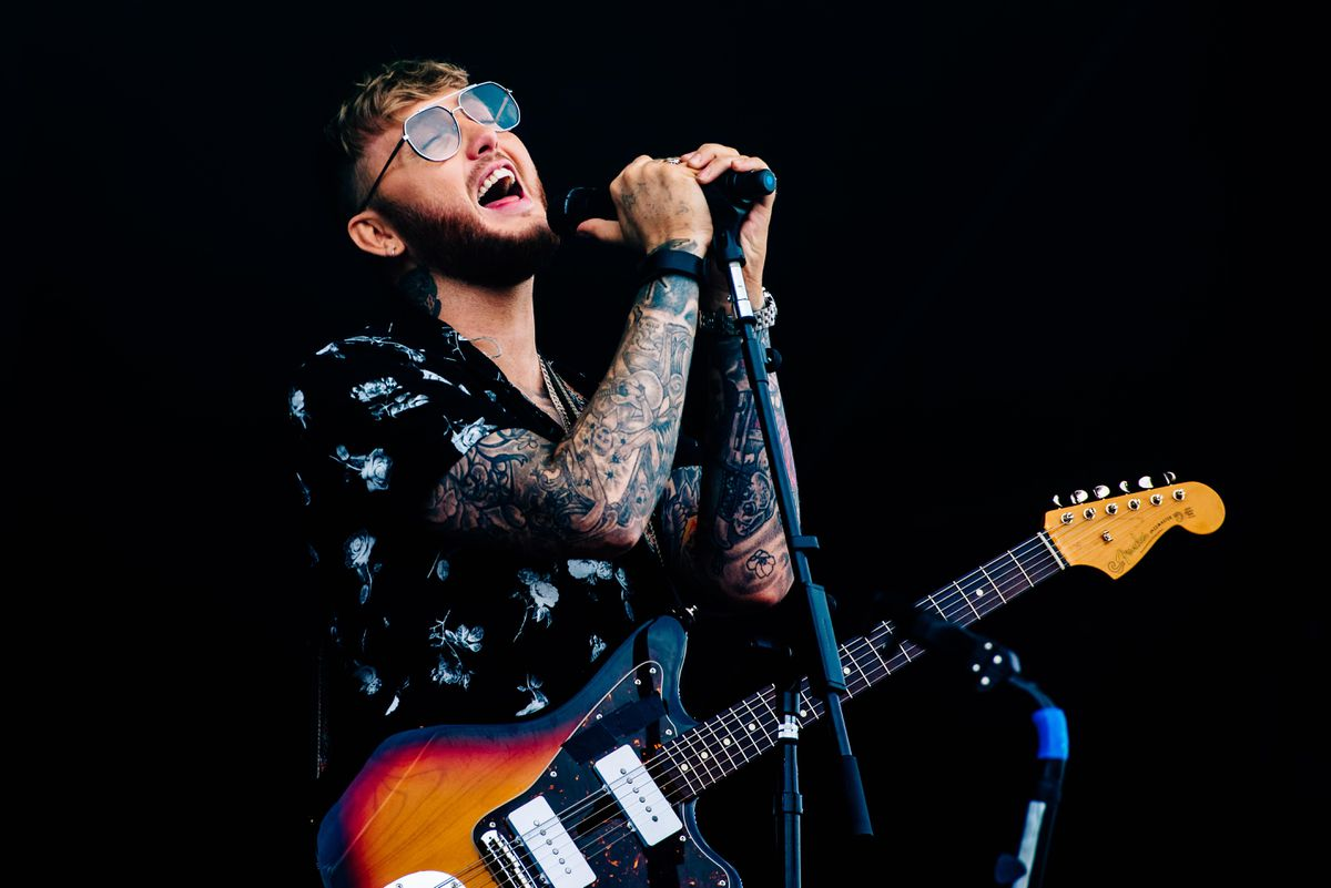 James Arthur on the Main Stage at V