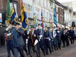 Annual Dudley thanksgiving service honours Battle of Britain heroes