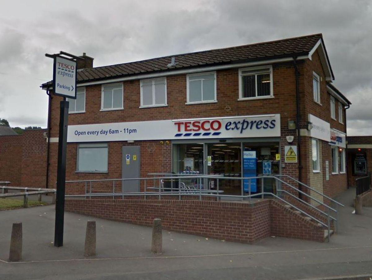 The Tesco Express on Hurst Road where the raid happened. Photo: Google