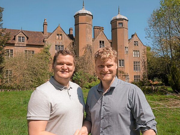 Meet the brothers who snapped up landmark Bewdley mansion for £800k