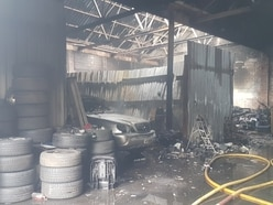 'Severe' fire tackled at West Bromwich factory unit