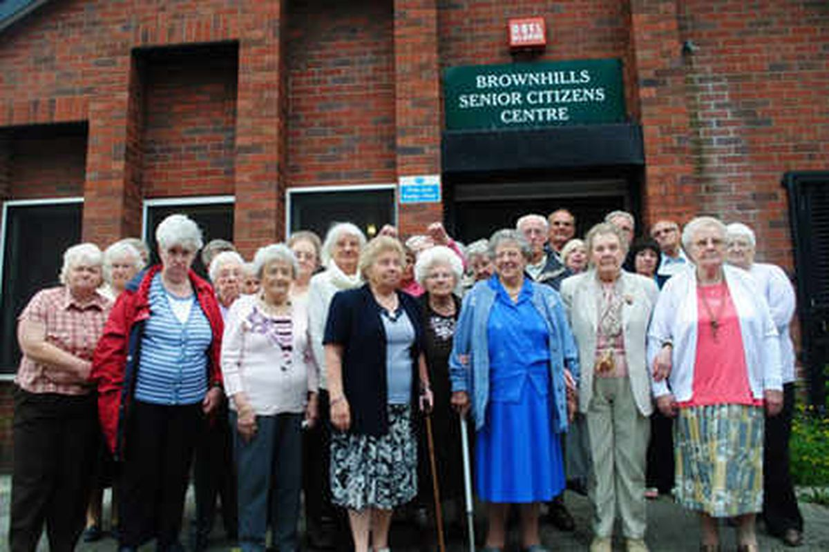 Pensioners battle Tesco over day centre