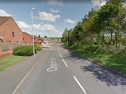 Suspected gunman arrested by armed police in Dudley