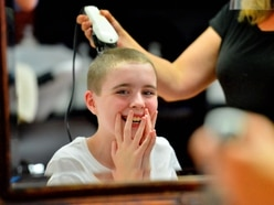 Lillie-Bea, 10, braves the shave for charity