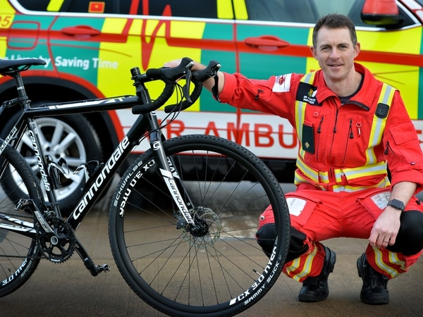 Paramedic to raise money on 100-mile cycle challenge
