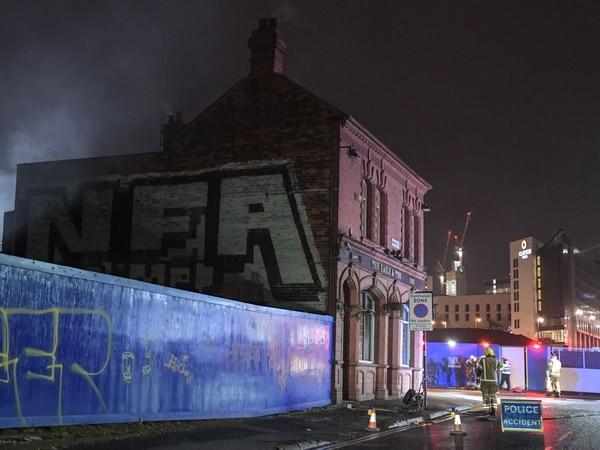 Fire damages famous UB40 pub the Eagle and Tun