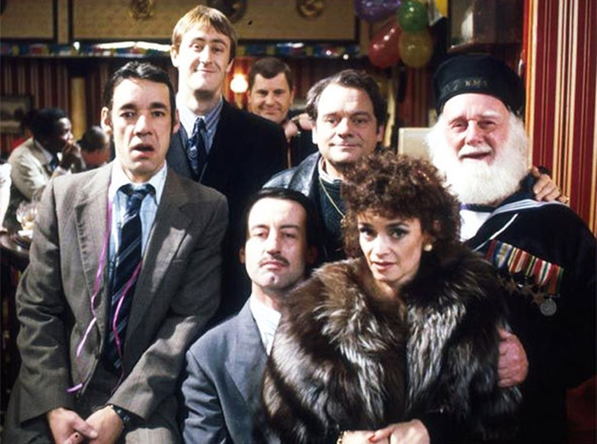 John Challis, front row, middle, wanted to tour to celebrate Only Fools and Horses' 40th anniversary