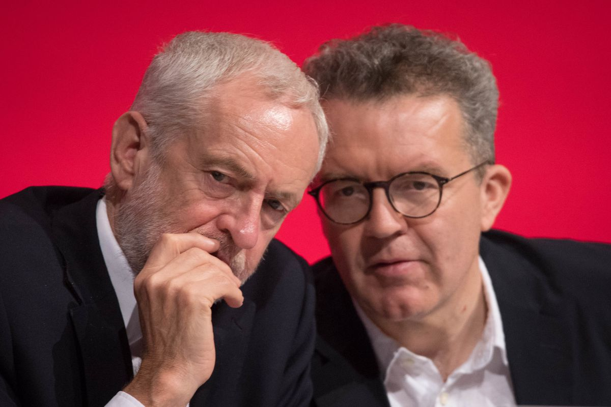 Jeremy Corbyn and Tom Watson - Leader and deputy leader of the Labour party