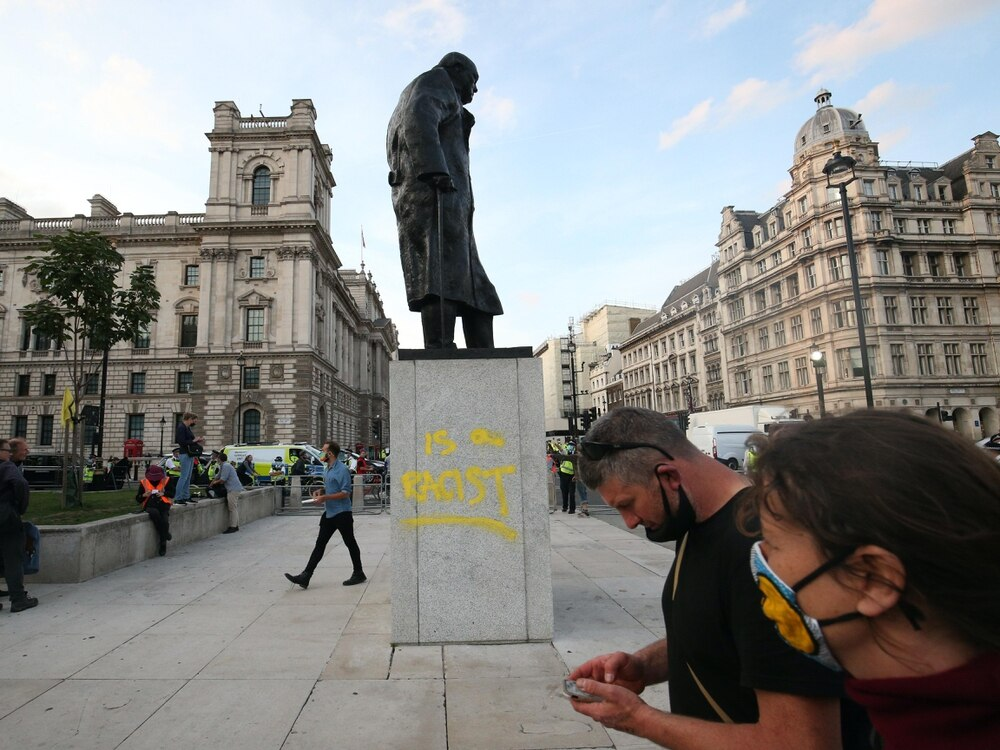 Teenager charged with vandalism of Winston Churchill statue in the UK