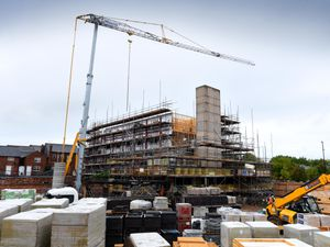 The new £7.8 million Travelodge in Walsall town centre is starting to take shape
