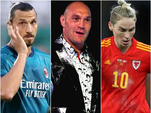 Zlatan Ibrahimovic, Tyson Fury and Jess Fishlock