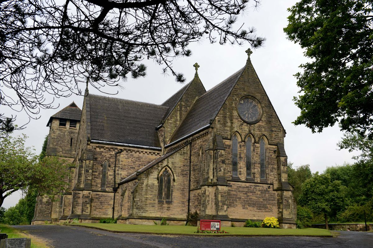 St Mark's Church, in Pensnett