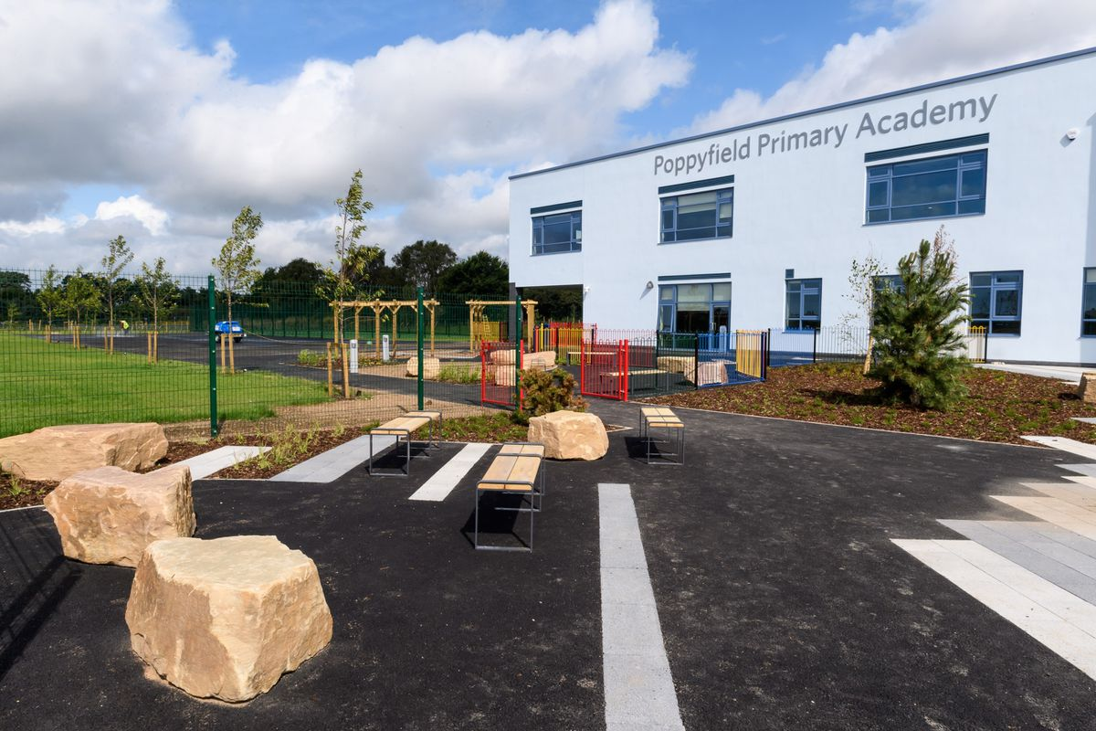 Work on the £5.2m Poppyfield Primary Academy has been completed