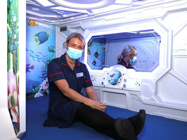 A new sensory pod has been installed at New Cross Hospital in Wolverhampton