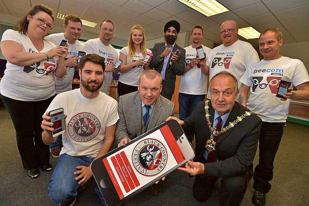 Black Country Festival app launched