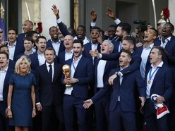 France celebrate in Paris after World Cup win in Russia