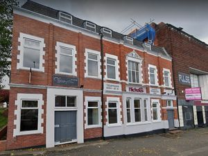 The Brierley Hill building earmarked for apartments. Photo: Google Maps