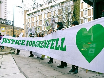 Witnesses linked to Grenfell revamp want protection from prosecution, inquiry told