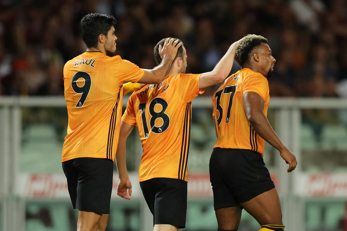 Wolves are 3-2 up after the first leg in Turin (© AMA / Matthew Ashton)