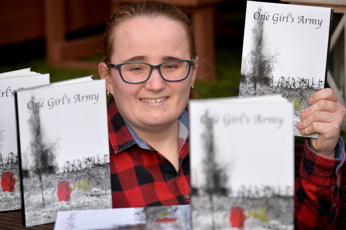 Chloe Ormerod, 24, has published a book called One Girl's Army