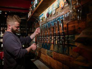 Harry Wyatt owns the House of Grain craft ale bar in Shrewsbury
