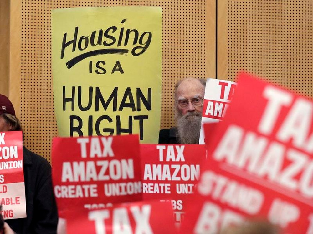 Seattle's tax on Amazon to help homeless may fall short, locals say
