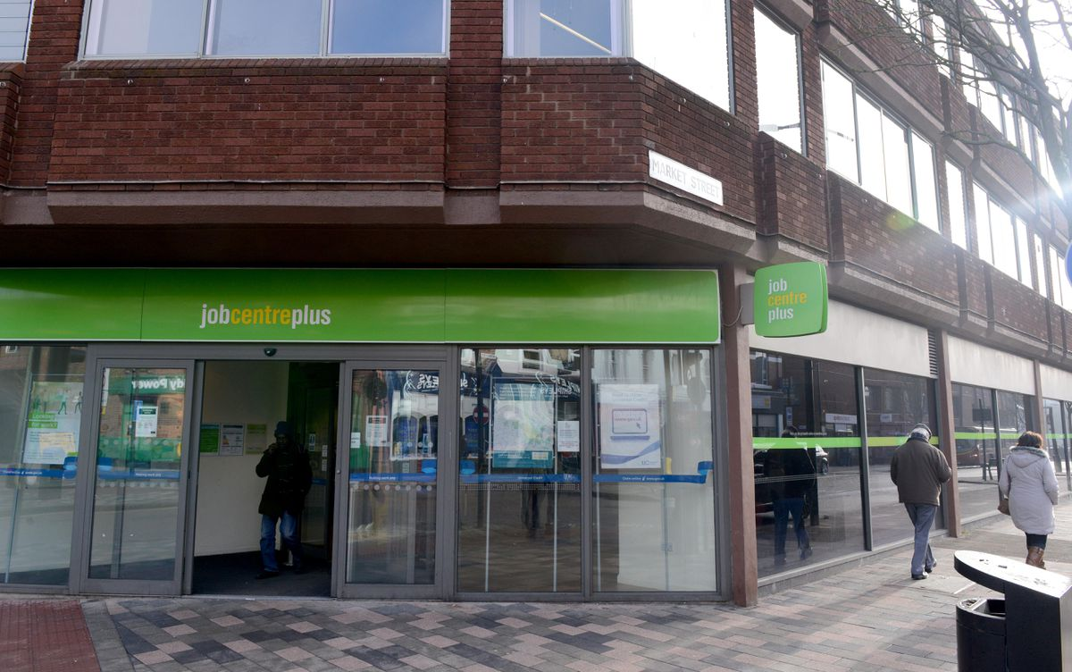 The Jobcentre in Wolverhampton city centre
