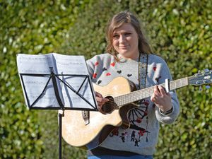 Jessica Sherry, from Wolverhampton, has written and preformed a song with her friend Peter Jones in tribute and in memory for Captain Sir Tom Moore.