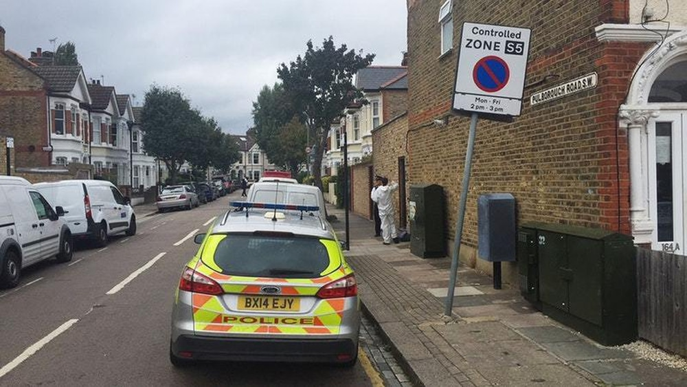 Two charged with murder over burned body in Southfields garden