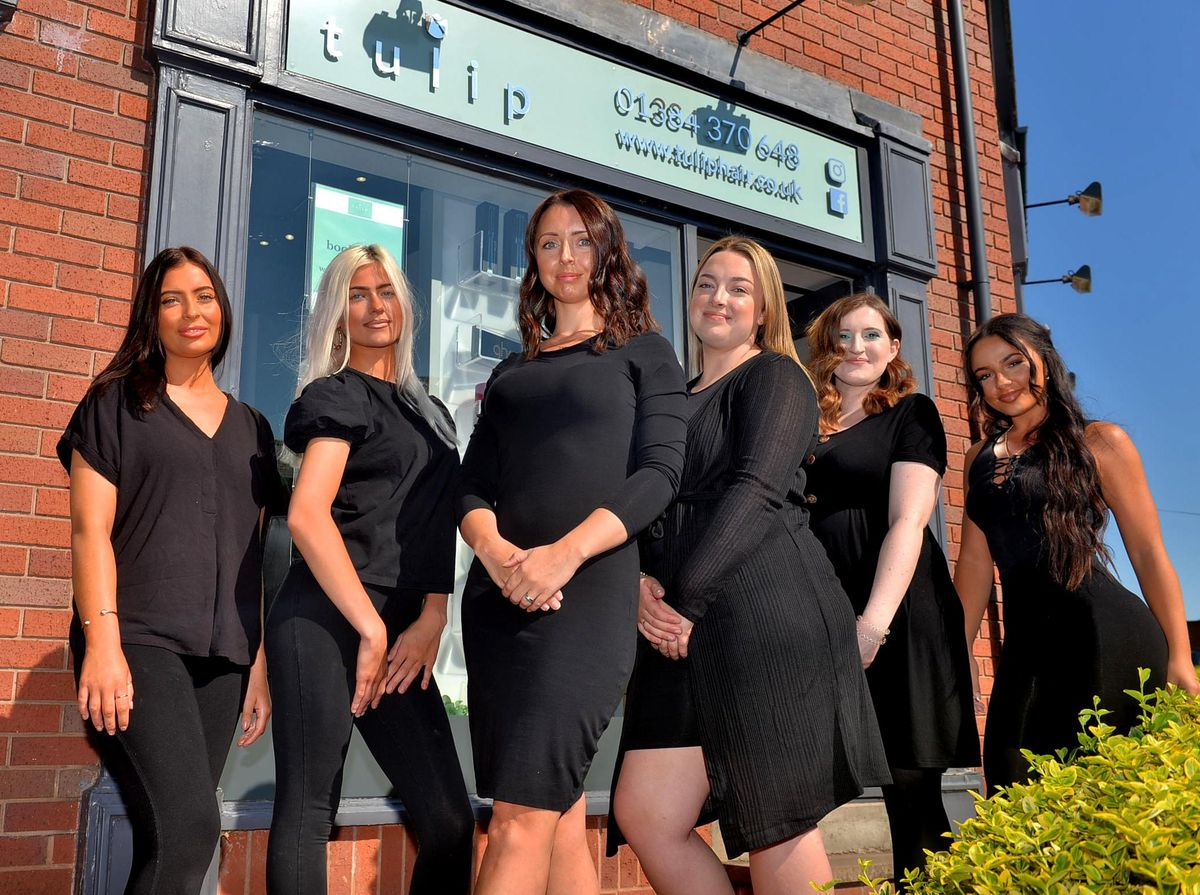 The team at Tulip Hair in Stourbridge