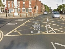 Police chase yobs as car window smashed with hammer in Dudley