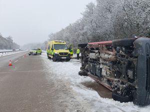 The scene of the crash. Photo: CMPG
