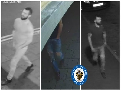 Man rapes, robs and assaults three women in an hour in Birmingham