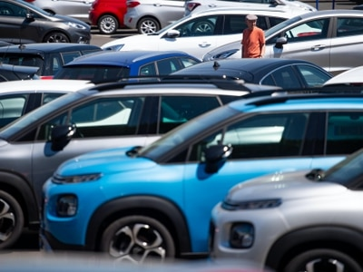 Demand for new cars down almost 35% in June